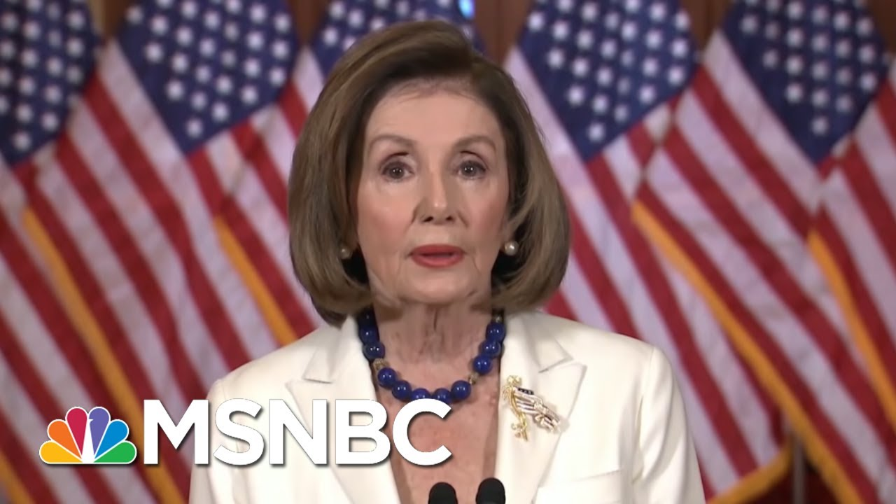 Pelosi Announces Articles Of Impeachment, Trump Attacks & Calls Her Unhinged - Day That Was | MSNBC 9