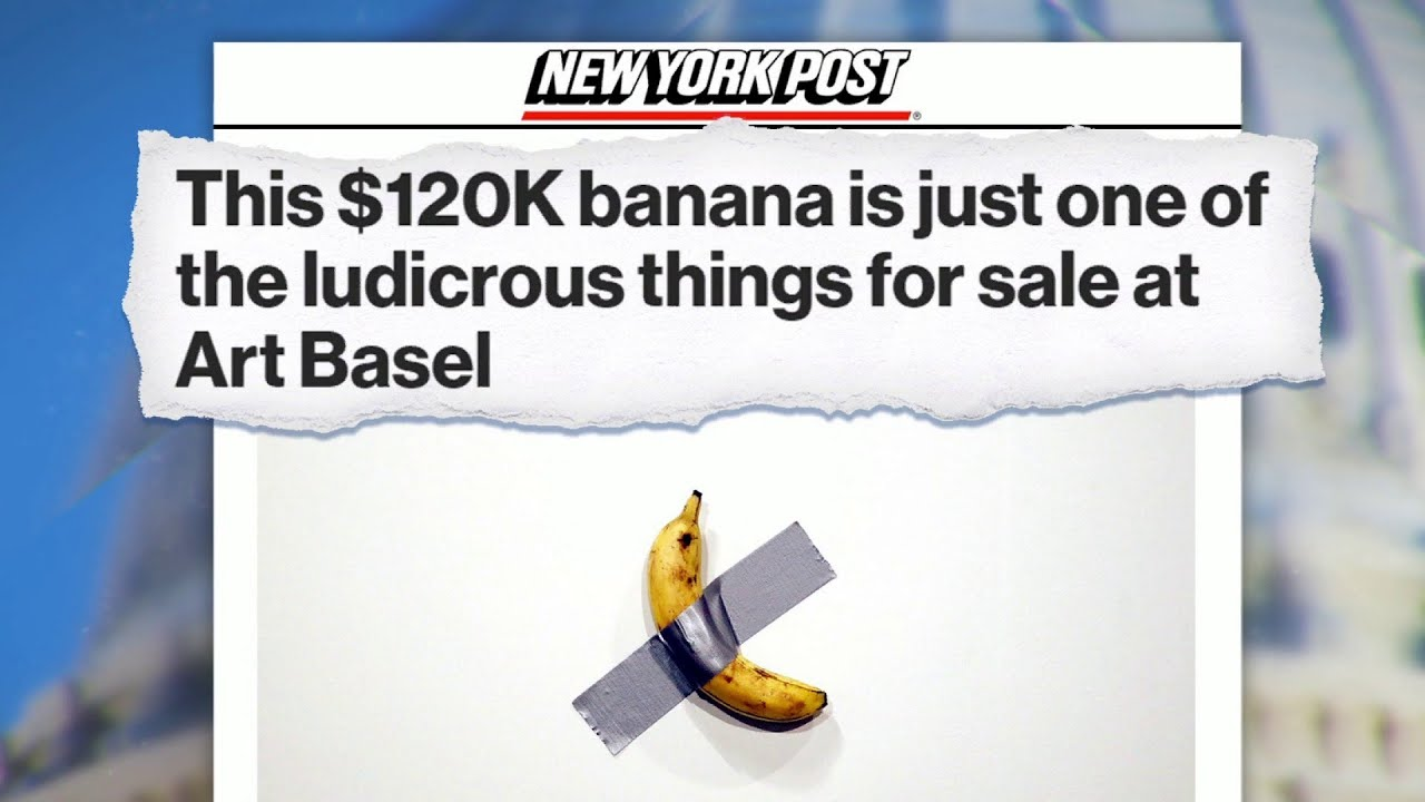 Chuck Todd's Obsessed With A Banana Duct Taped To A Wall | MTP Daily | MSNBC 1
