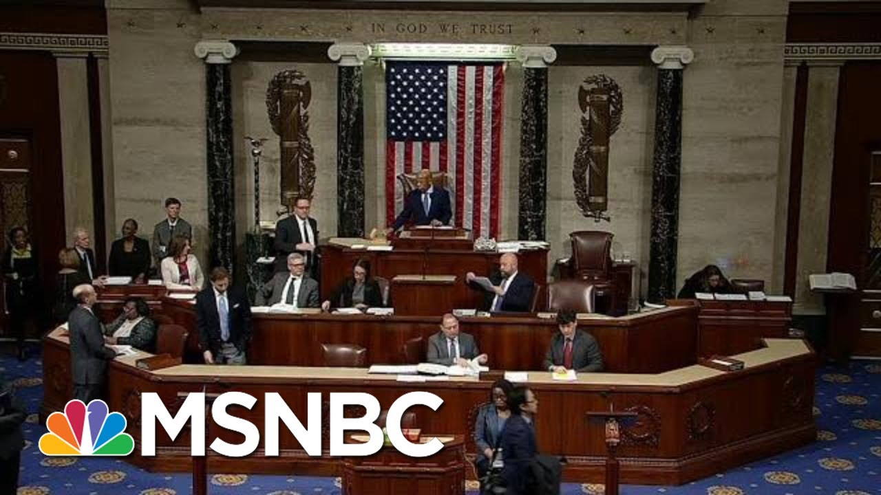 Trump WH Threatens To Veto Restored Voting Rights Act | The Last Word | MSNBC 6