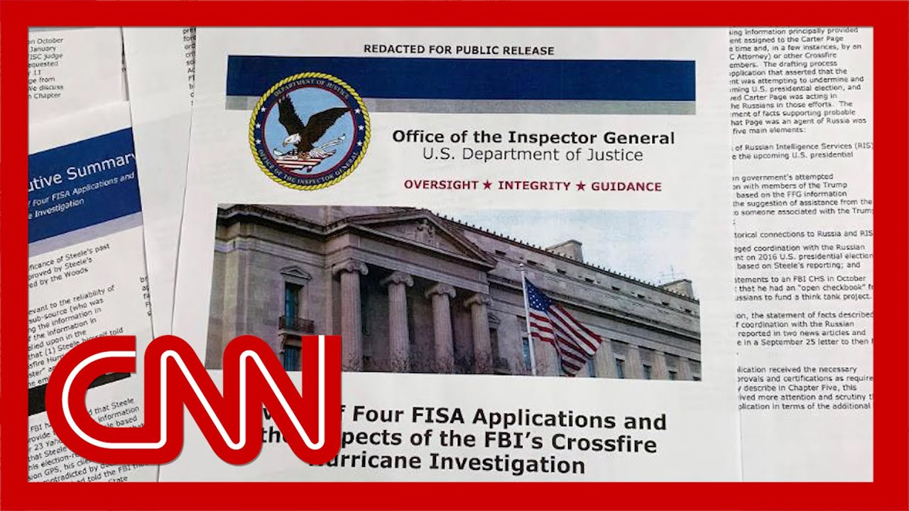 Inspector general: FBI properly opened its investigation 5
