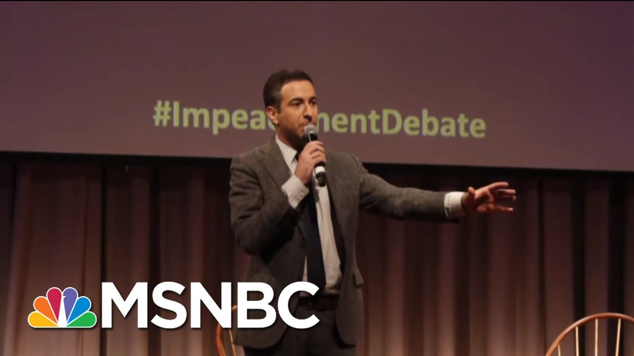 MSNBC's Ari Melber On The Legacy Of SDNY Prosecutors, Columbia U. Event | MSNBC 3