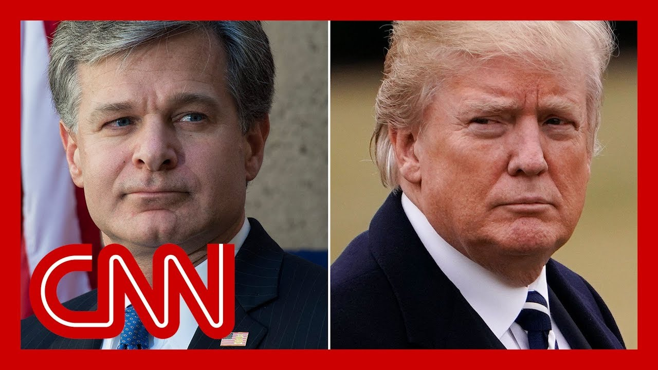 Trump lashes out at FBI director for stating facts 1
