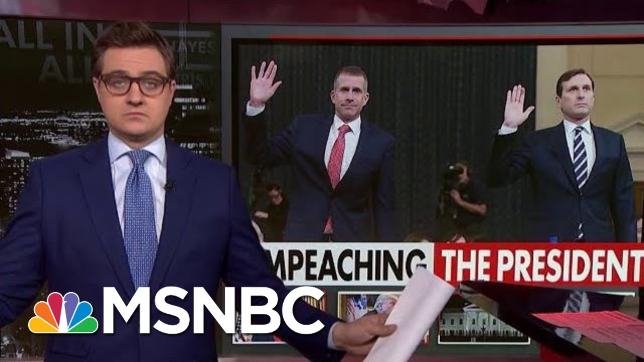 Chris Hayes: Republicans Continue To Lie About Ukraine Events | All In | MSNBC 5