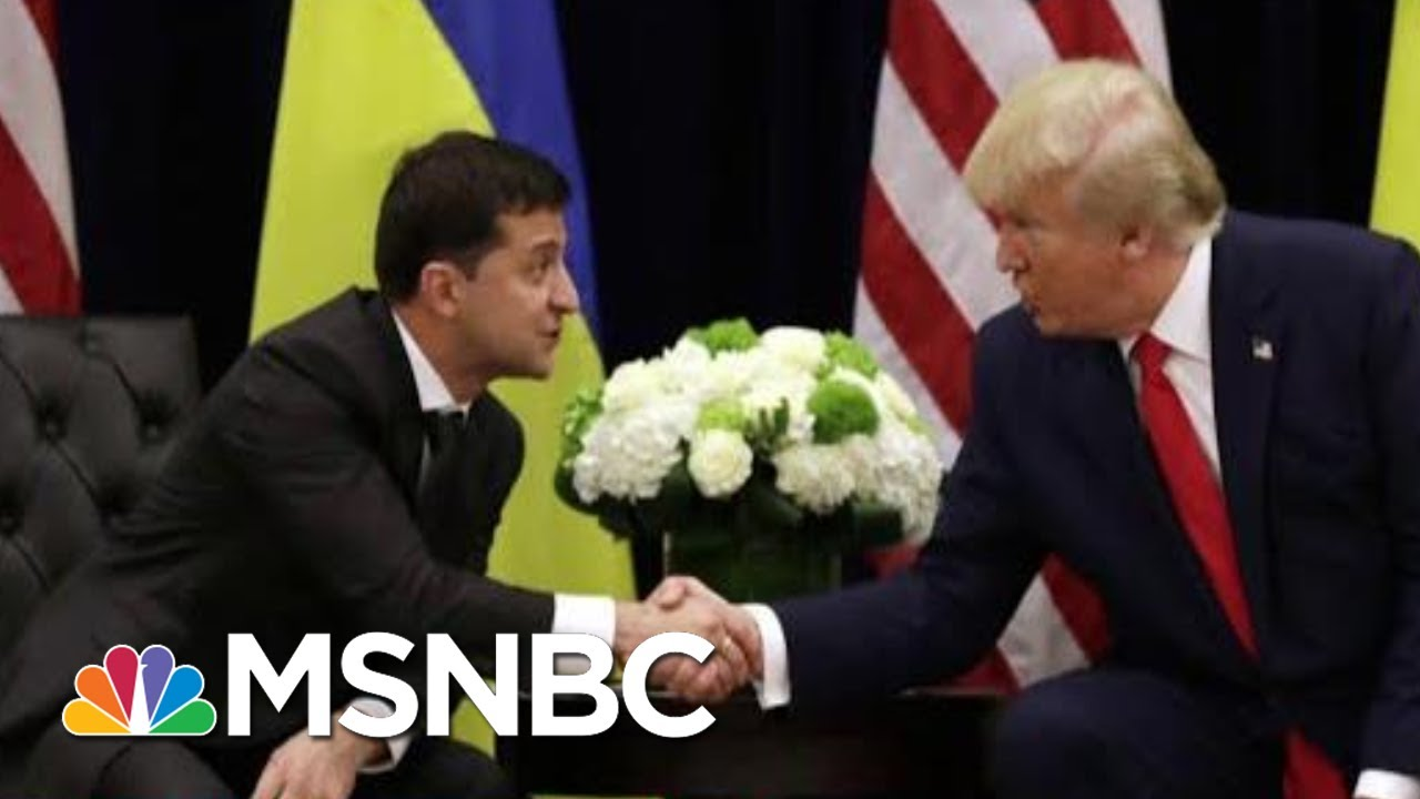 White House Announces It Won't Participate In Impeachment Hearing   Deadline   MSNBC 7