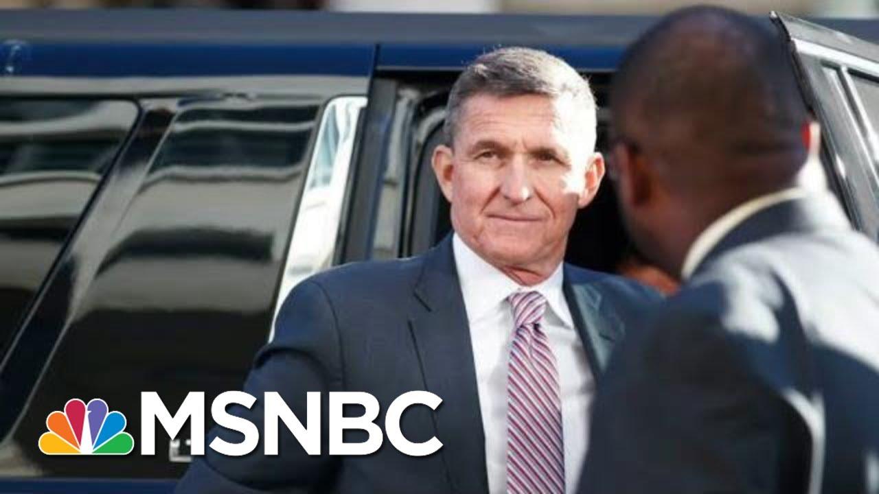 DOJ IG Report Debunks Mike Flynn Hail Mary Defense Ahead Of Sentencing | Rachel Maddow | MSNBC 1