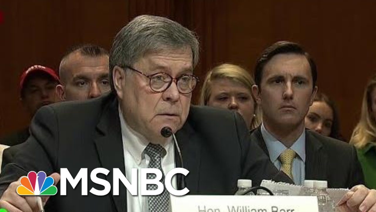 AG Barr Uses His Position To Be President Donald Trump's Roy Cohn | Morning Joe | MSNBC 6
