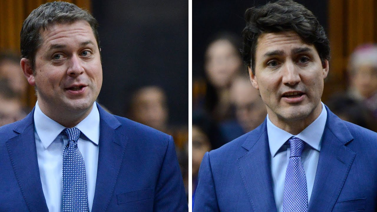 Prime Minister Justin Trudeau spars with Andrew Scheer over new NAFTA deal 2
