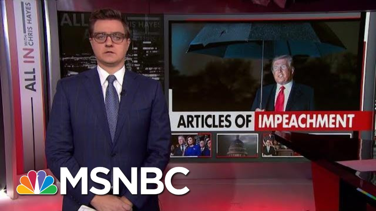 Chris Hayes: The Stakes For Trump's Impeachment Are Very High | All In | MSNBC 5