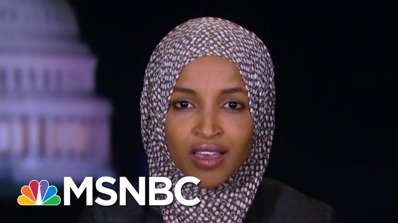 Ilhan Omar: To Impeach Trump, Focus On Ukraine Not Other Issues | The Beat With Ari Melber | MSNBC 5