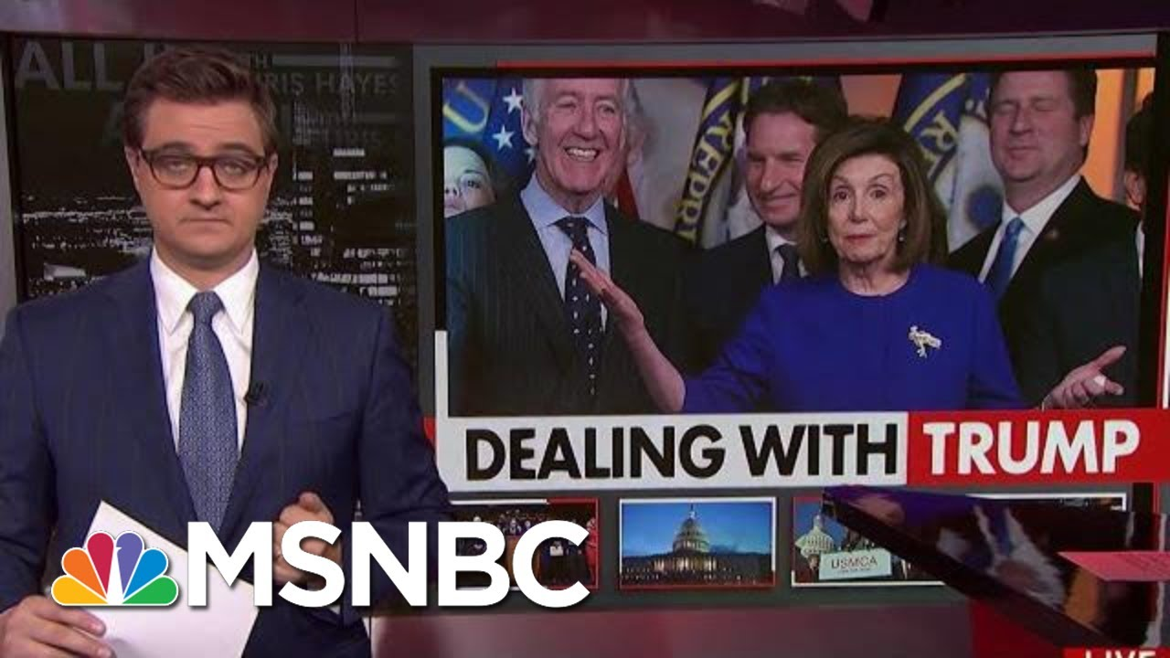 Democrats Agree To Support North America Trade Deal   All In   MSNBC 1