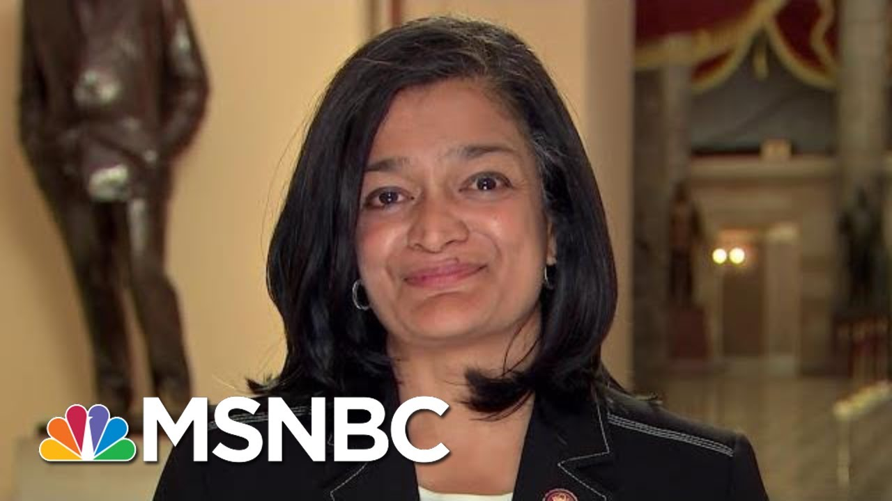 Rep. Pramila Jayapal: 'President Trump Is The Smoking Gun' | The Last Word | MSNBC 4
