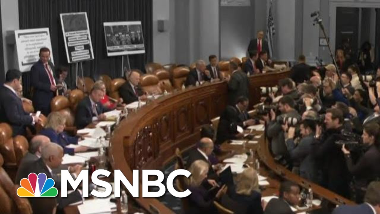 House Judiciary Committee Debates Impeachment | The 11th Hour | MSNBC 7