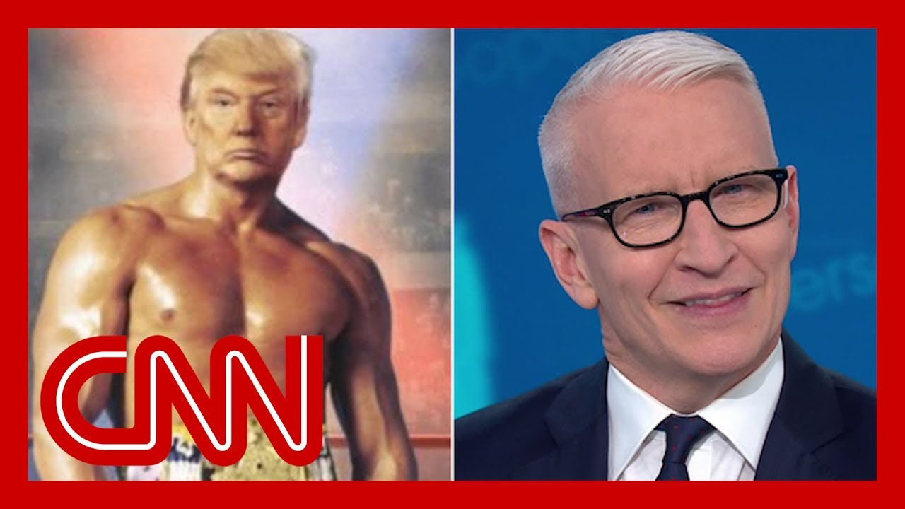Cooper skewers Trump's photoshopped image of himself 1