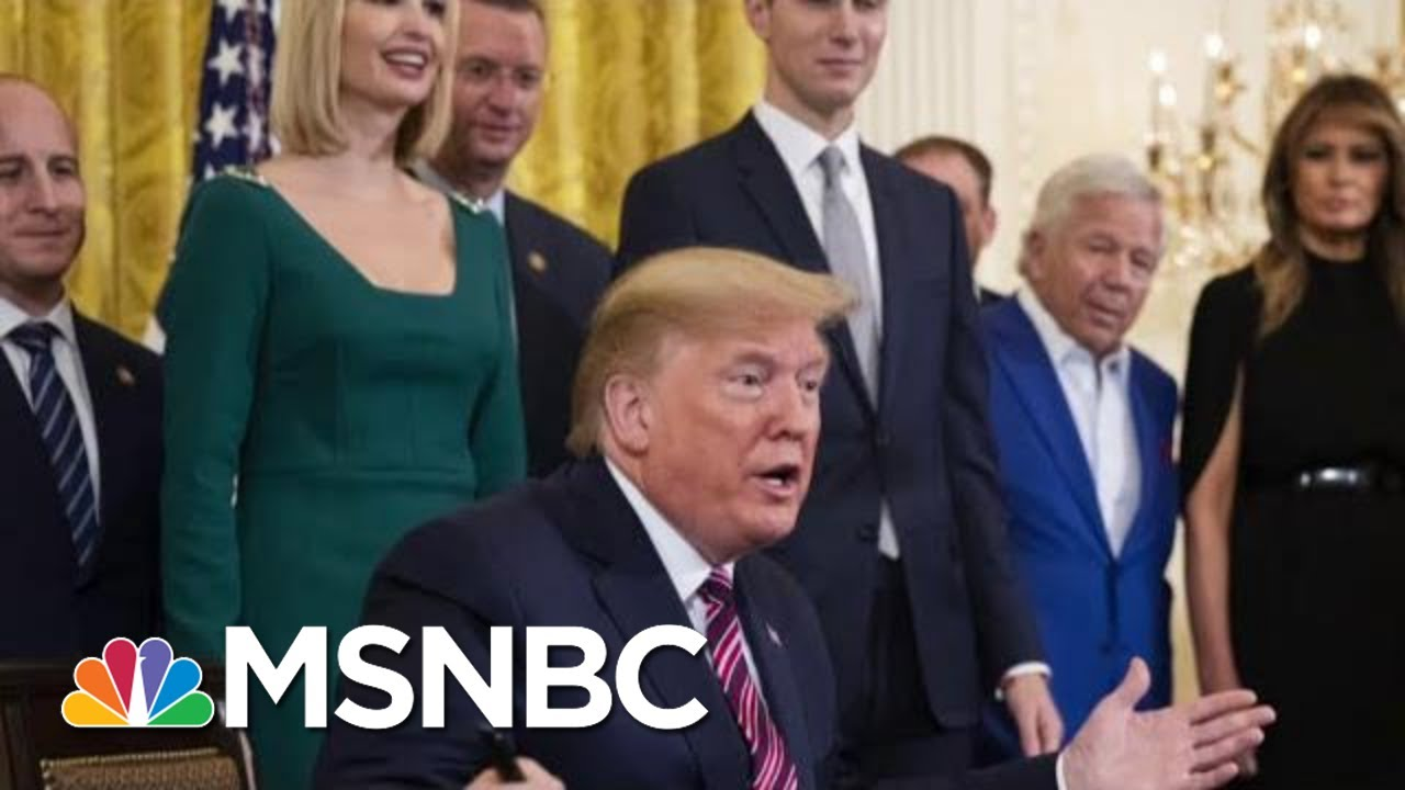 Trump Knows Impeachment The First Line Of His Political Obituary Says Reporter | Morning Joe | MSNBC 6