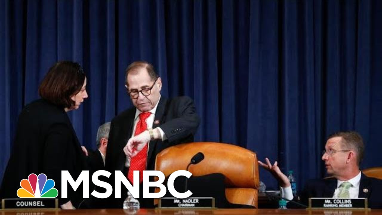 Jerry Nadler Shocks GOP With Surprise End To Trump Impeachment Debate | The 11th Hour | MSNBC 6