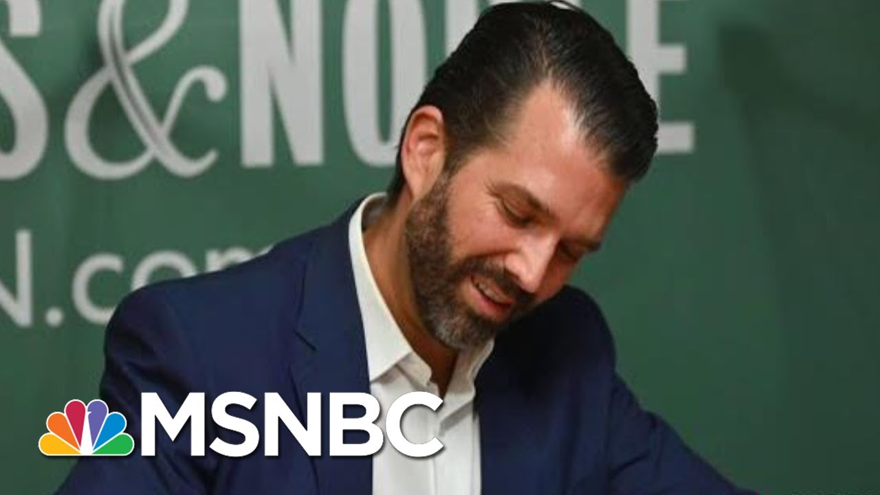 GOP Helped Donald Trump Jr. Get To The Top Of The Best Sellers List | All In | MSNBC 7