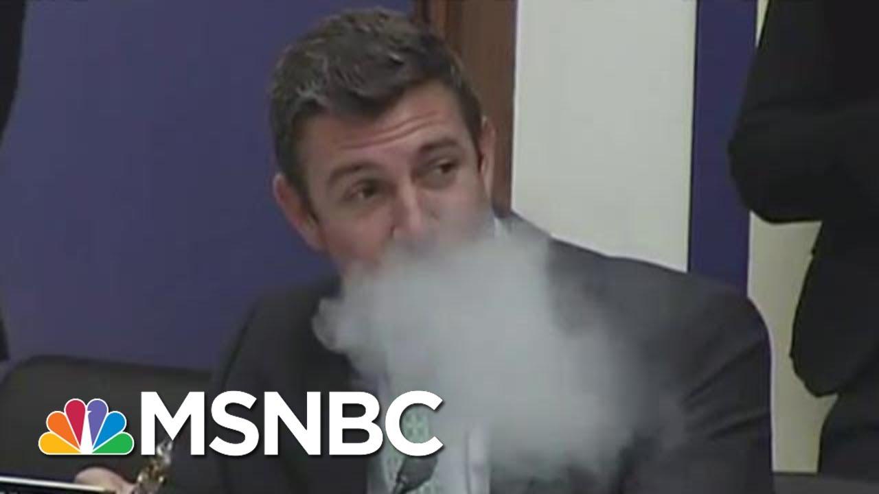 Vaping Congressman Duncan Hunter Will Plead Guilty | All In | MSNBC 9