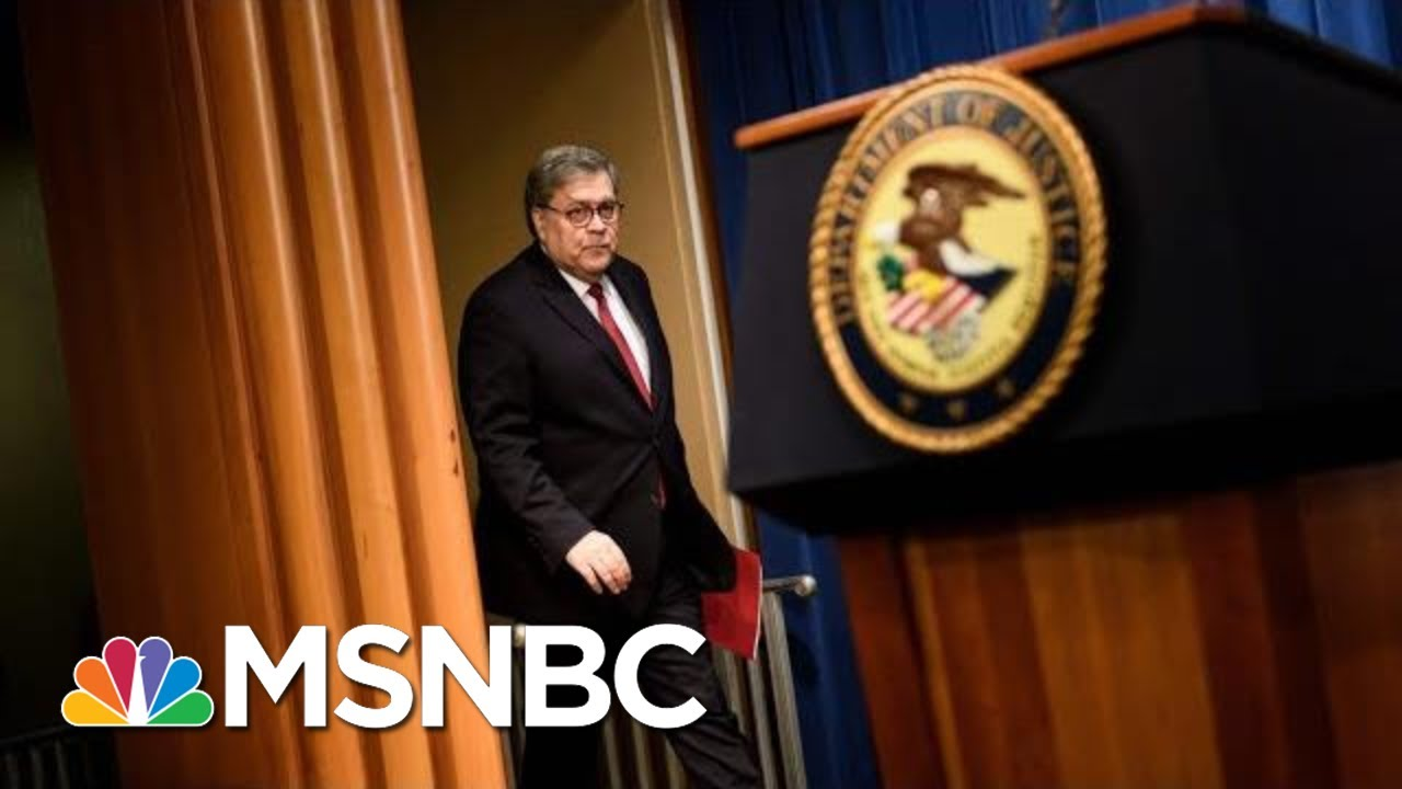Bill Barr Couldn't Be More Destructive AG Than If Putin Picked Him | The 11th Hour | MSNBC 7