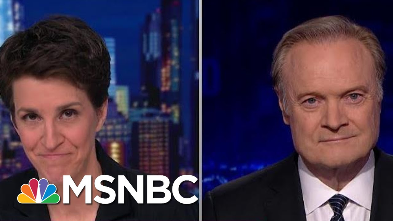 Rachel And Lawrence Talk Next Phase Of Impeachment Inquiry | The Last Word | MSNBC 11