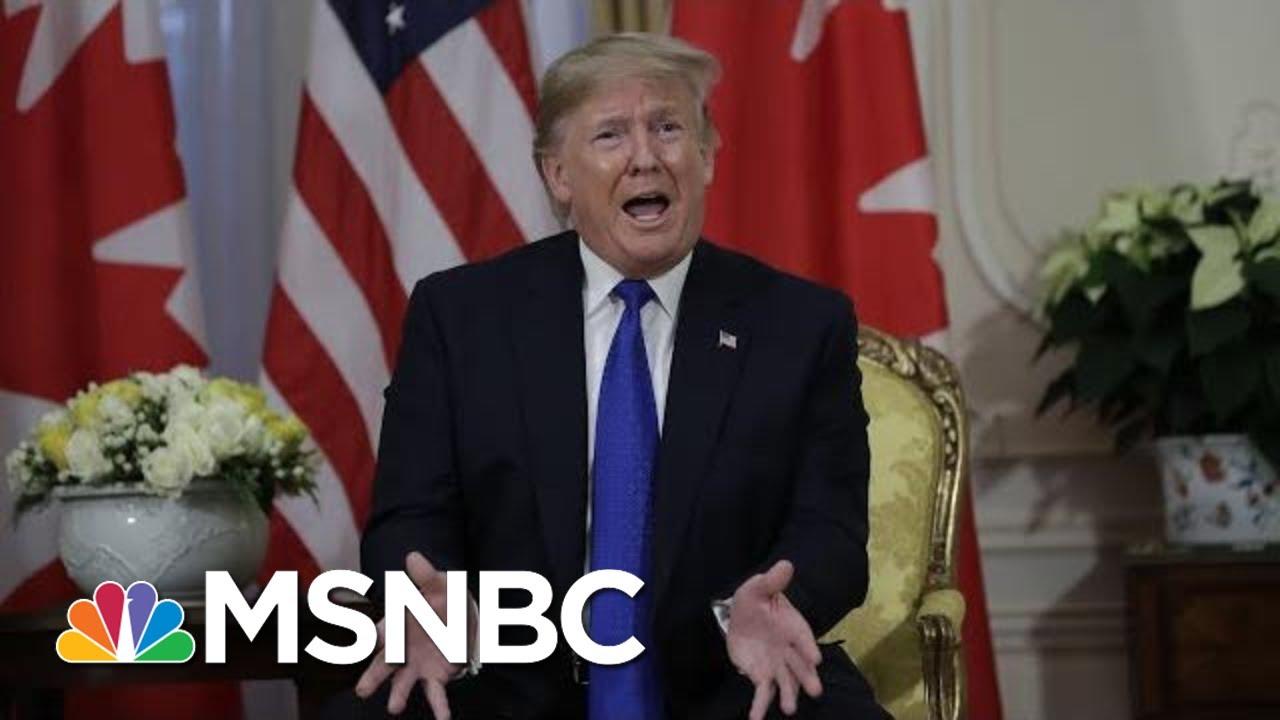 President Donald Trump: Adam Schiff Is A 'Deranged Human Being' | MSNBC 1