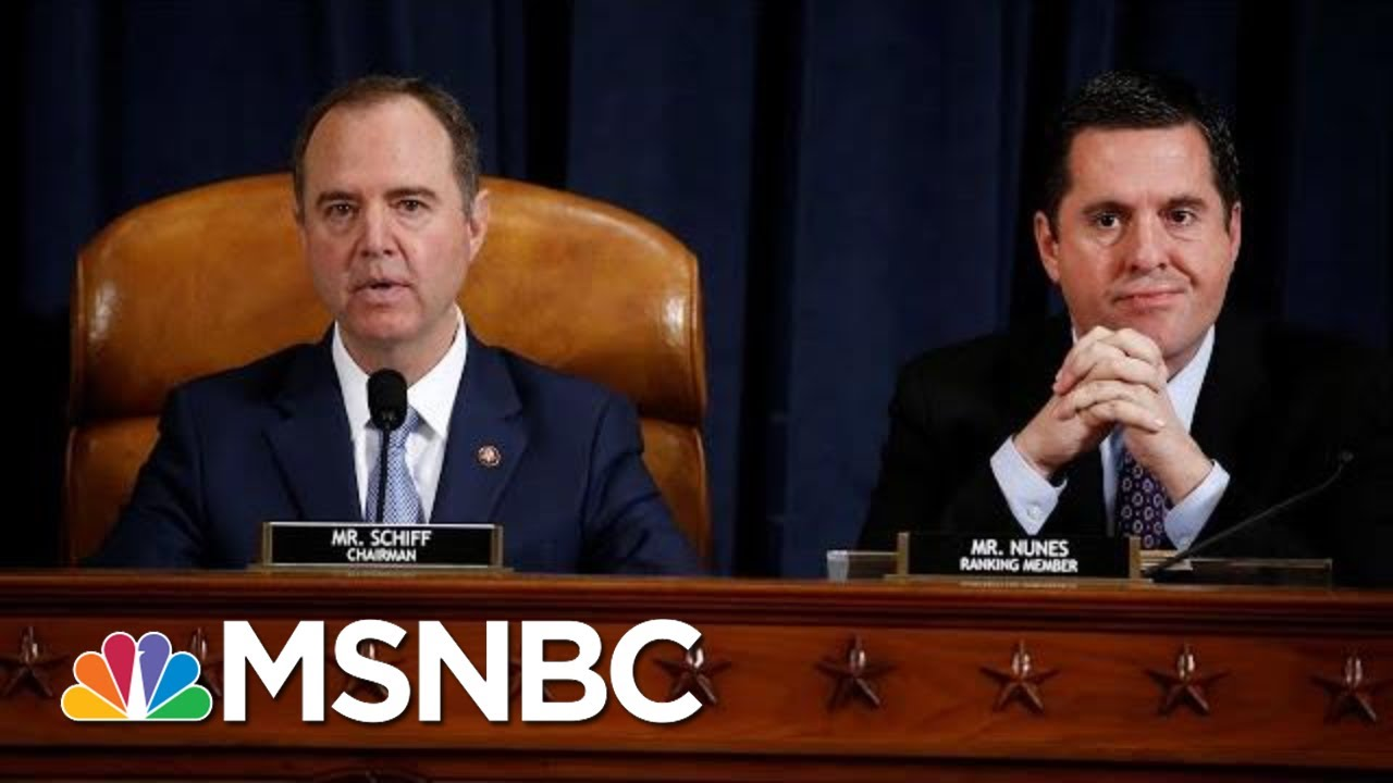 House Intelligence Committee Releases Impeachment Report | Velshi & Ruhle | MSNBC 7
