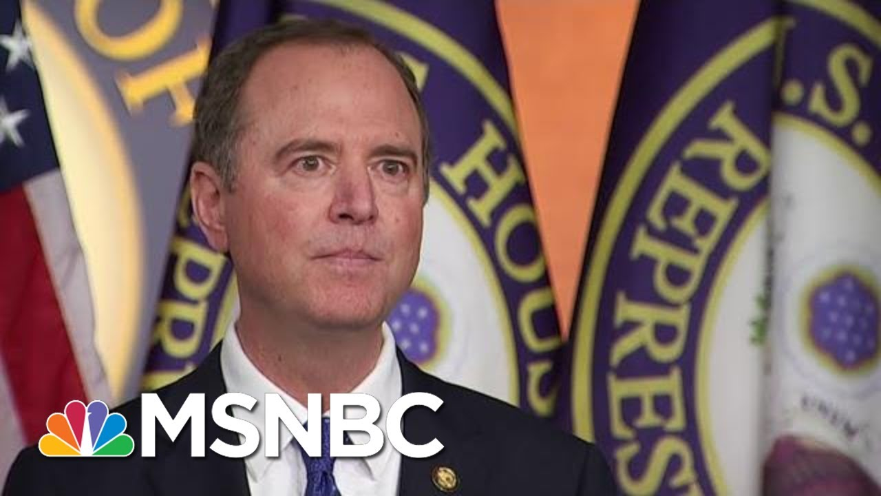 Adam Schiff On The Impeachment Inquiry: 'This Is About Our Democracy' | MSNBC 6