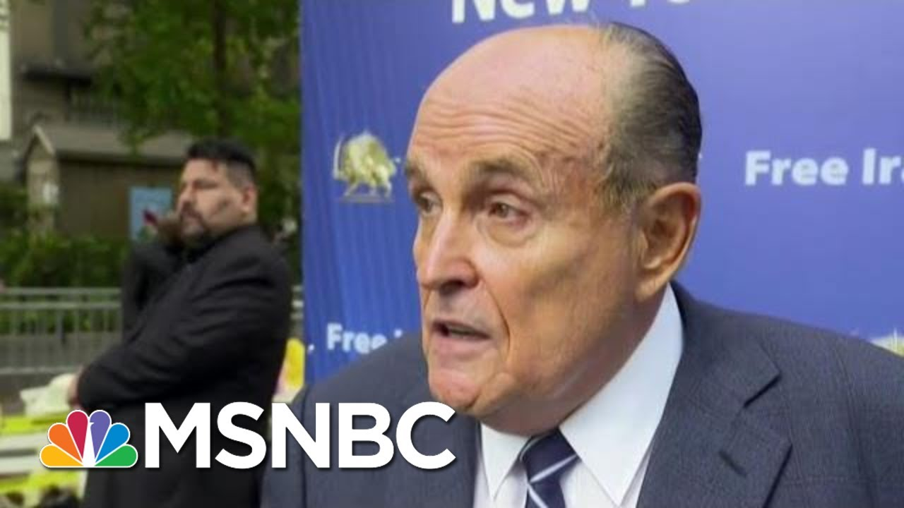 Bombshell Call Log Revealed: Giuliani Traded Calls With White House As Ukraine Plot Unfolded | MSNBC 3