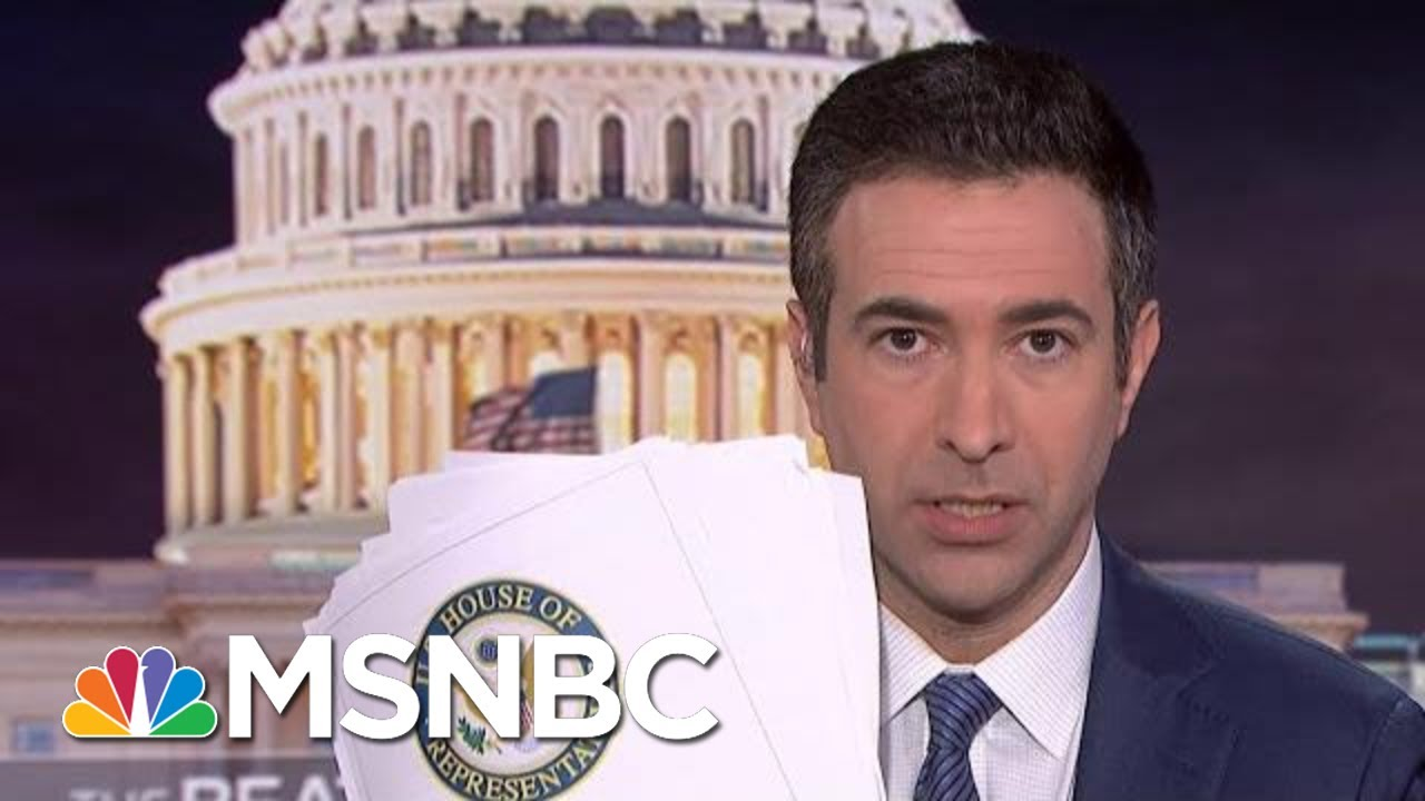 See The Damning Evidence In New Trump Impeachment Report | The Beat With Ari Melber | MSNBC 6