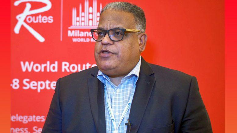 U.S. Virgin Islands Commissioner of Tourism Joseph Boschulte