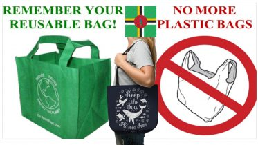 The Common Wealth Of Dominica is banning plastic bags